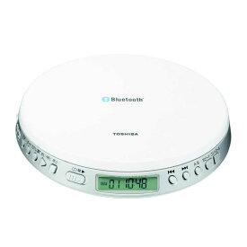 東芝 TOSHIBA ポータブルCDプレーヤー Bluetooth送信機能付き TY-P3(W)