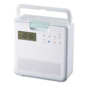 東芝 TOSHIBA コンパクト防水型SD/CDラジオ TY-CB100(W)