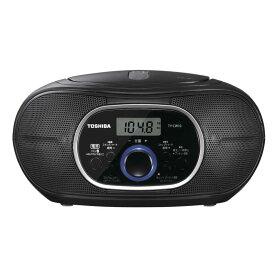 東芝 TOSHIBA CDラジオ [Bluetooth対応 /ワイドFM対応] TY-CW10-K ブラック