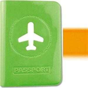 スタジオエヌ ALIFE ハッピーフライト パスポートカバー SNCF‐012‐2 (オレンジ)