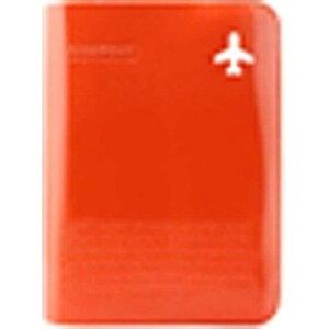 スタジオエヌ ALIFE ハッピーフライト・パスポートカバー・プラス SNCF‐072‐2 (オレンジ)
