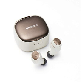 NOBLEAUDIO フルワイヤレスイヤホン ホワイト NOB-FALCON2-W [マイク対応 /ワイヤレス(左右分離) /Bluetooth]