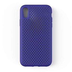 HAMEE iPhone XR専用AndMesh メッシュiPhoneケース(ネオブルー) 612-959179