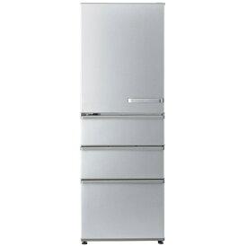 アクア AQUA 4ドア冷蔵庫 [左開き/355L] AQR-36KL-S ブライトシルバー(標準設置無料)