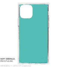 アピロス iPhone 11 Pro 5.8インチ TILE SOFT EMERALD PEI13-TLS-EM