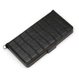 PGA Ploom TECH用フリップカバー PG-PTFP08BK クロコダイル調ブラック