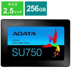 ADATA 内蔵SSD SATA6Gb/s 3DTLC 7mm [2.5インチ /256GB] ASU750SS-256GT-C