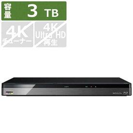 東芝 TOSHIBA ブルーレイレコーダー[3TB/3番組同時録画] DBR-UT309