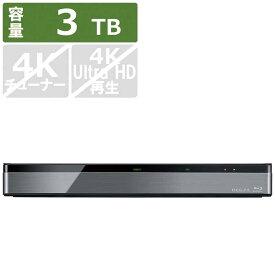 東芝 TOSHIBA ブルーレイレコーダー REGZA(レグザ) [3TB /全自動録画対応] DBR-M3010