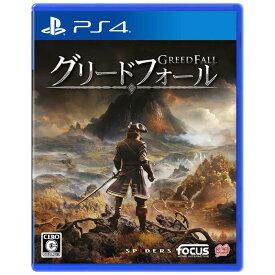 GAMESOURCEENTERTAI PS4ゲームソフト GreedFall PLJM16597
