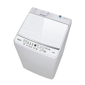 ハイセンス 全自動洗濯機[洗濯5.5kg/送風乾燥付き] HW-G55B-W ホワイト(標準設置無料)