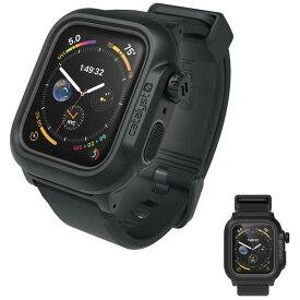トリニティ Apple Watch Series 4 44mm 完全防水ケース(バンド付) CT-WPAW1844-BK ブラック