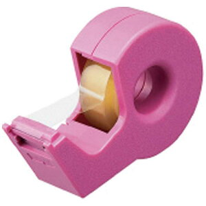 コクヨ [テープカッター]カルカット ハンディタイプ 小巻き ピンク T-SM300P