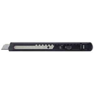 コクヨ [カッターナイフ] カッターナイフ 標準型 フッ素加工刃 黒 HA-2-SD