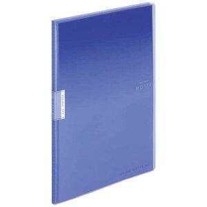 コクヨ クリヤーブック「モッテ」(固定式)A4縦 20枚ポケット ラ-LM20B 青