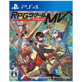 角川ゲームス PS4ゲームソフト RPGツクールMV Trinity
