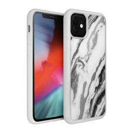 LAUT iPhone 11 6.1インチ LAUT ミネラルグラス ミネラルホワイト L_IP19M_MG_W