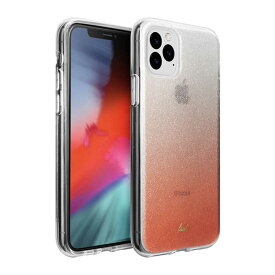 LAUT iPhone 11 Pro 5.8インチ LAUT オンバー スパークル ピーチ L_IP19S_OS_P