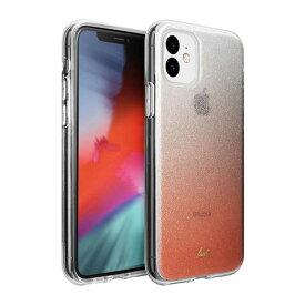 LAUT iPhone 11 6.1インチ LAUT オンバー スパークル ピーチ L_IP19M_OS_P