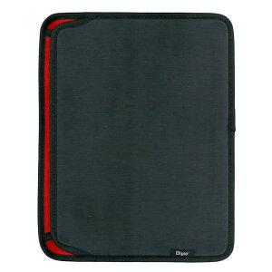 ナカバヤシ SurfaceGo用スリップインケース横入れ ポケット付き ブラック TBCSFGY1803BK(ブラ