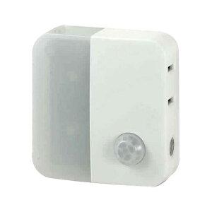 ELPA 人感センサー付ライト (9lm) PM-LC301-W ホワイト