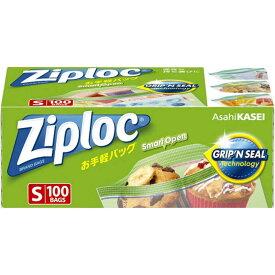 旭化成ホームプロダクツ Ziploc(ジップロック)お手軽バッグ S 100枚 ZLオテガルS100(S10