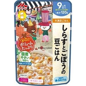 森永乳業 しらすとごぼうの豆ごはん 120g シラストゴボウノマメゴハン(120