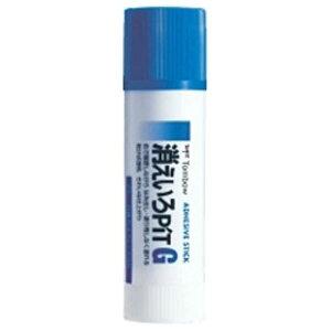 トンボ鉛筆 [スティックのり]消えいろピットG(太塗り) PT-GC