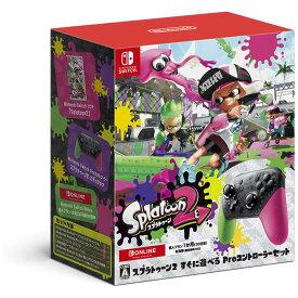 任天堂 Nintendo SWITCHゲームソフト スプラトゥーン2 すぐに遊べる Proコントローラーセット