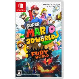 任天堂 Nintendo SWITCHゲームソフト スーパーマリオ 3Dワールド + フューリーワールド HAC-P-AUZPA