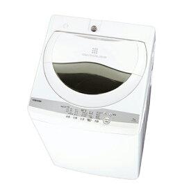 東芝 TOSHIBA 全自動洗濯機 ZABOON(ザブーン)[洗濯5.0kg/浸透パワフル洗浄/送風乾燥付き] AW-5G9(W) グランホワイト(標準設置無料)