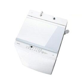 東芝 TOSHIBA 全自動洗濯機[洗濯10.0kg/ふろ水ポンプ付] AW-10M7-W ピュアホワイト(標準設置無料)