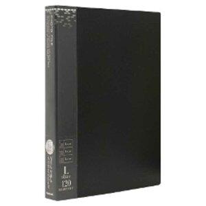 ナカバヤシ バインダー式ポケットアルバムフォトファイル(L判3段/ブラック)  アS‐MY‐141‐D