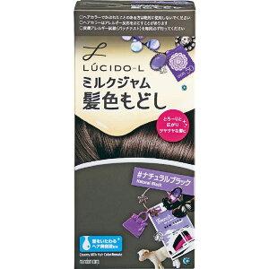 マンダム 「ルシードエル」ミルクジャム髪色もどし ナチュラルブラック LCLミルクジャムカミイロモドシNB