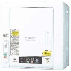 日立 HITACHI 衣類乾燥機[乾燥容量6.0kg] DE‐N60WV‐W(ピュアホワイト)(標準設置無料)