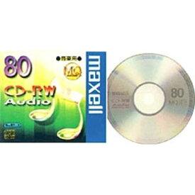 マクセル 音楽用CD−RW 1枚 CDRWA80MQ.1TP