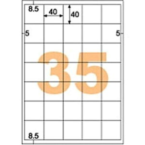 ヒサゴ きれいにはがせるラベル(A4サイズ・35面・20枚) OPH3030