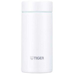 タイガー TIGER ステンレスボトル「サハラマグ」[0.2L/直飲み] MMPJ-021 クールホワイト