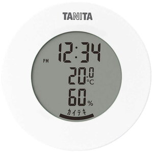 タニタ デジタル温湿度計 TT585WH