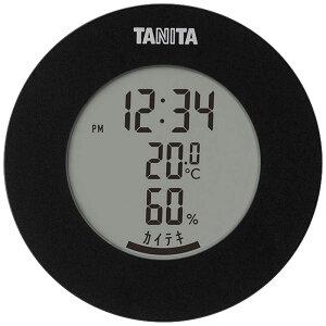 タニタ デジタル温湿度計 TT585BK