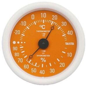 タニタ 温湿度計 TT‐515‐OR (オレンジ)