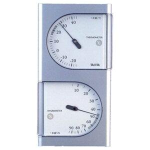 タニタ 温湿度計(シルバー) TT‐518‐SV