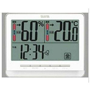 タニタ デジタル温湿度計 TT‐538‐WH (ホワイト)
