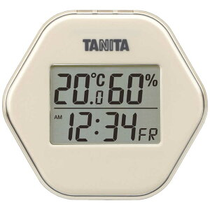 タニタ デジタル温湿度計 TT573IV
