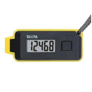 タニタ 3Dセンサー搭載歩数計 「歩イッスル」 FB-738-BK ブラック