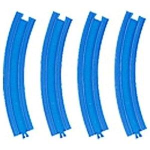 タカラトミー プラレール  R-09 複線 外側曲線レール(4本入)