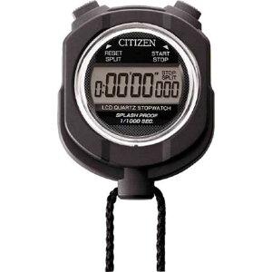 リズム時計 シチズン ストップウォッチ 8RDA55-002 黒