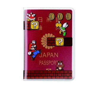 任天堂販売 パスポートカバー スーパーマリオ(ステージ) NSL-0034