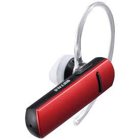 BUFFALO Bluetooth 4.1対応 ヘッドセット 音声&通話対応 BSHSBE200RD