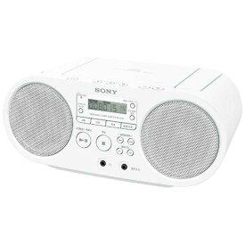 ソニー SONY CDラジオ ZS-S40(W)(ホワイト)